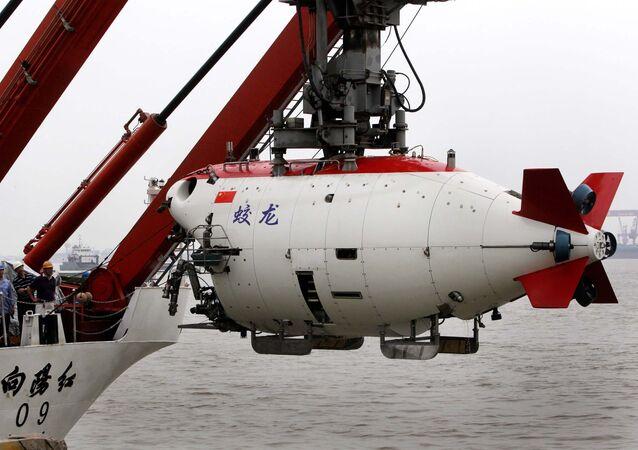 Navio submarino chinês Jiaolong