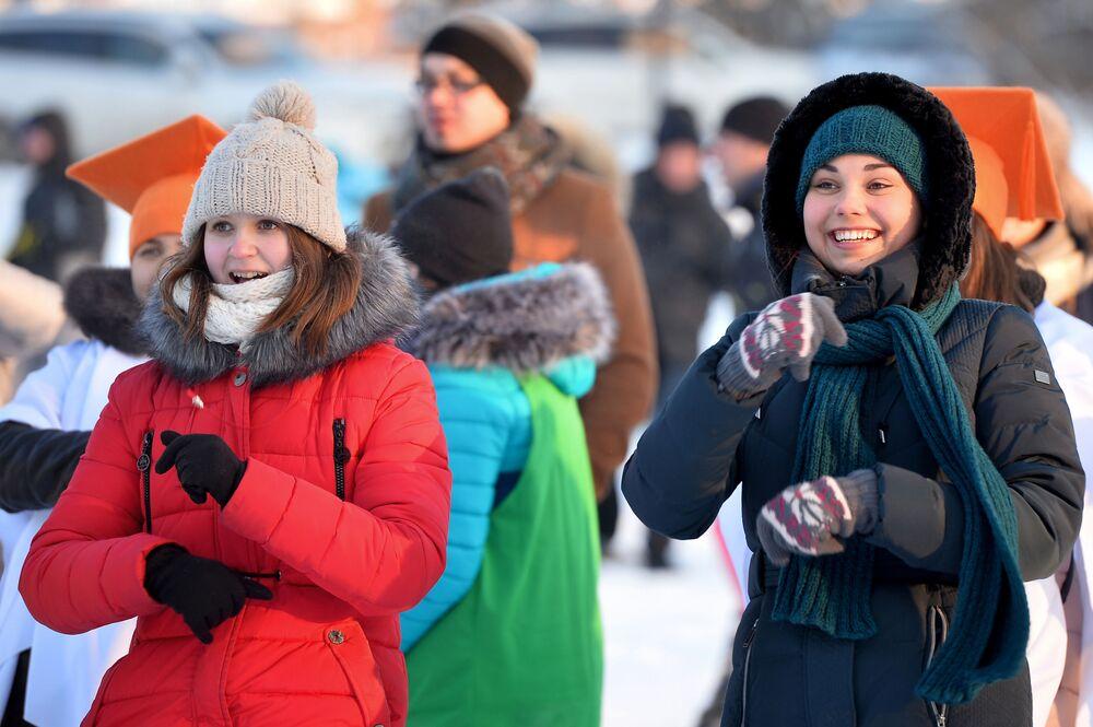 Jogos estudantis de inverno em Kazan, 2016