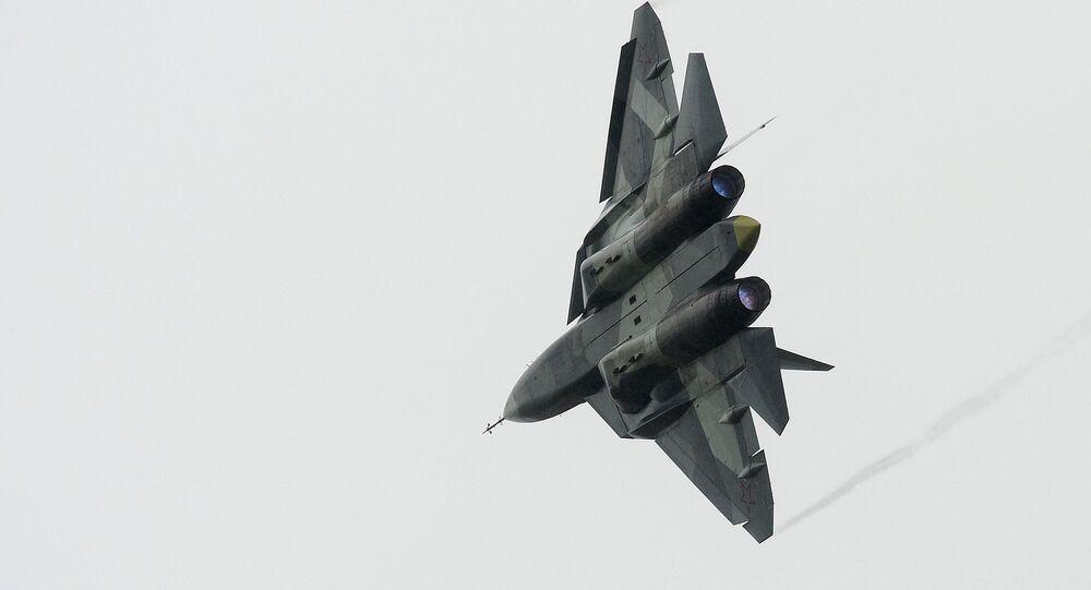 Caça russo Su-57