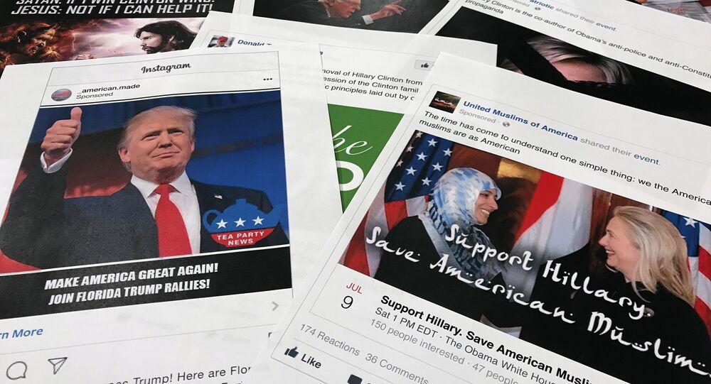 Algumas fotos do Facebook e Instagram ligadas aos alegados esforços da Rússia de intervir nas eleições norte-americanas