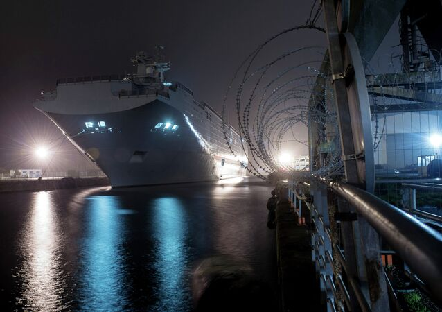 Vladivostok, navio do tipo Mistral