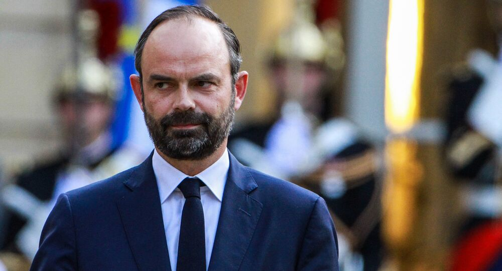 Édouard Philippe, primeiro-ministro da França