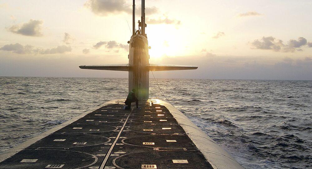 Submarino de míssil balístico da classe Ohio, USS Wyoming