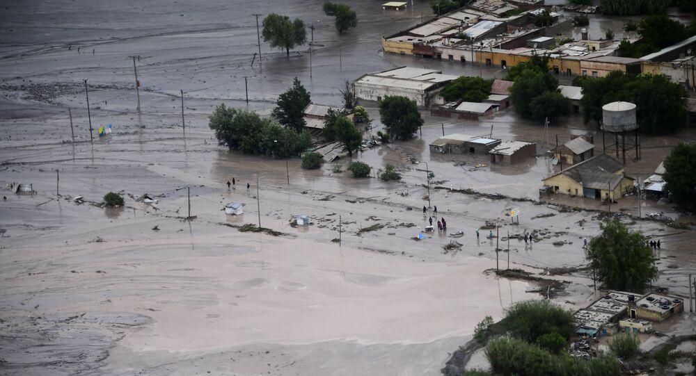 Inundações afetam Argentina