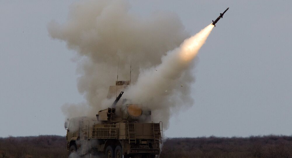 Sistema de defesa antiaérea Pantsir-S