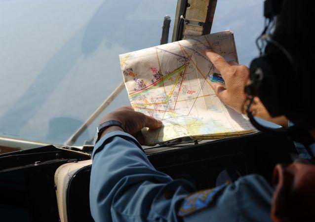 Buscas pelo avião da Malaysia Airlines, que caiu no oceano Índico ao viajar entre Kuala Lumpur e Pequim em março de 2014 (foto de arquivo)