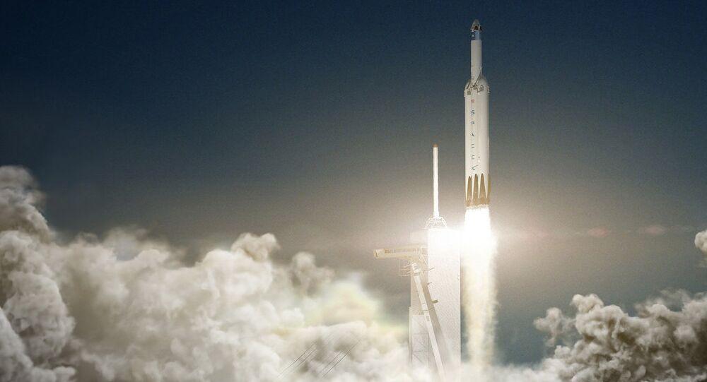 Falcon Heavy, o foguete da SpaceX
