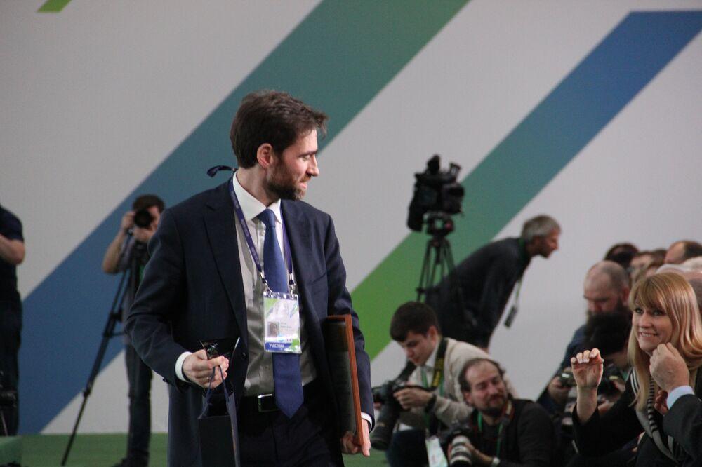 Dmitry Yalov, funcionário da administração da região de Leningrado, recebe título de vencedor do concurso Líderes da Rússia