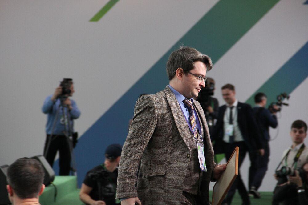 Viktor Orlovsky, empresário de Moscou, recebe título de vencedor do concurso Líderes da Rússia