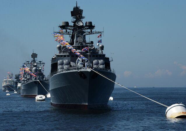 Navio antisubmarino russo Admiral Vinogradov
