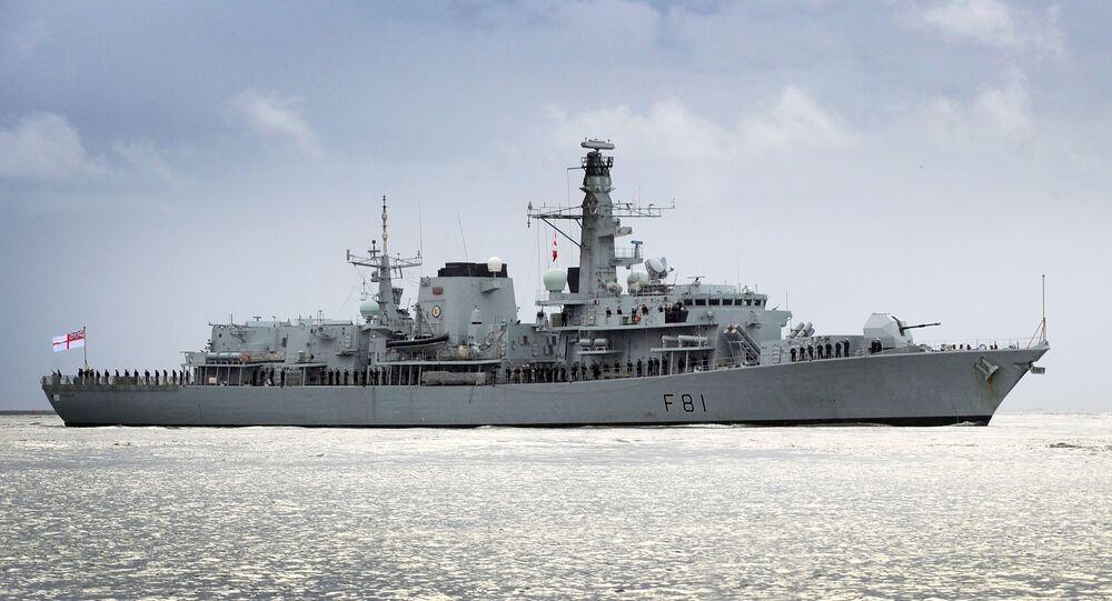 HMS Sutherland (foto de arquivo)