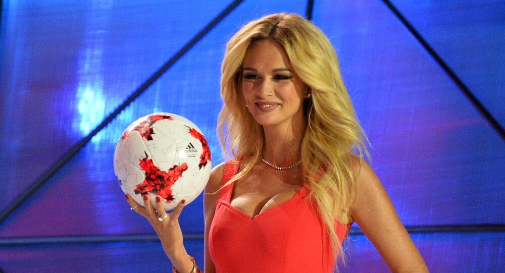 Viktoria Lopyreva, embaixadora da Copa do Mundo 2018