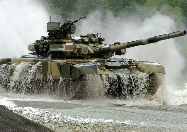 Tanque russo T-90S
