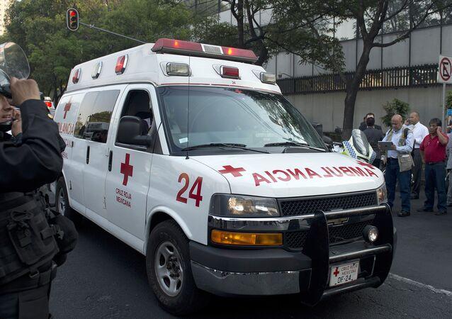 Ambulância no México (foto de arquivo)