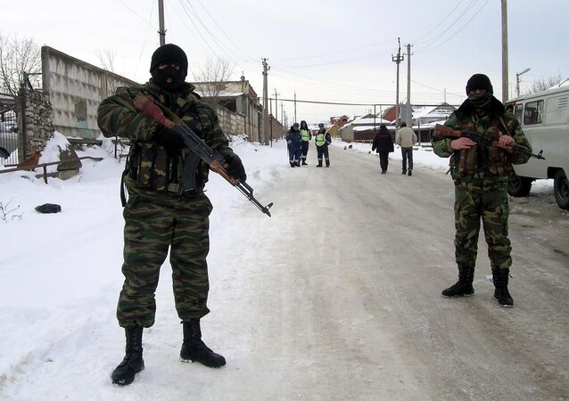 Forças especiais russas no Daguestão (arquivo)