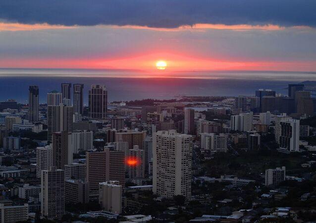 Pôr do Sol, Havaí