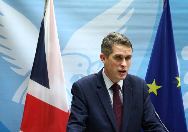 Secretário de Defesa do Reino Unido, Gavin Williamson