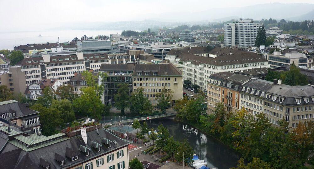 Vista da cidade suíça de Zurique (arquivo)