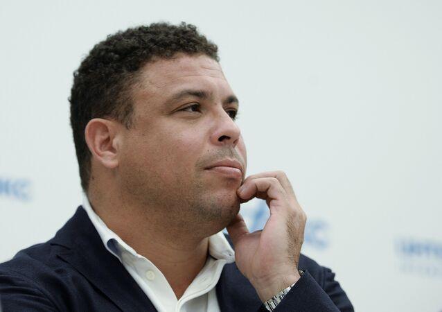 Ex-atacante da seleção brasileira de futebol Ronaldo