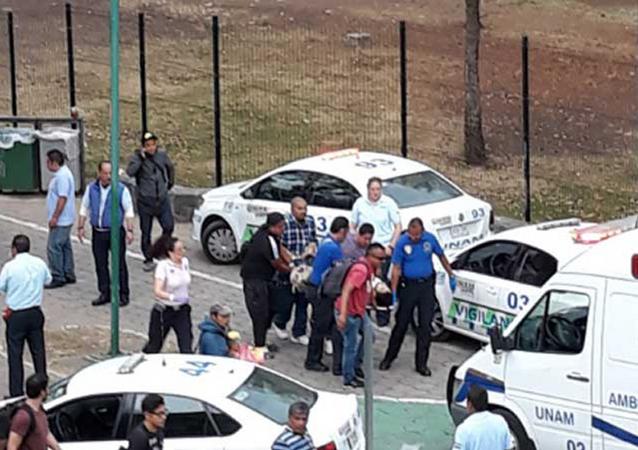 Tiroteio na Universidade Nacional Autônoma do México deixa dois mortos.