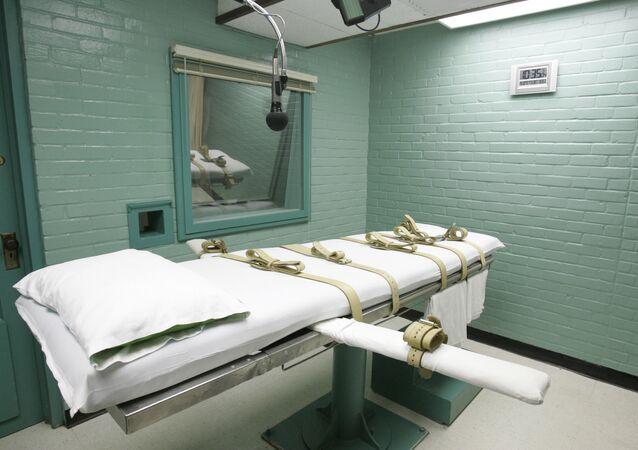 Leito para realização de execuções, Texas, EUA