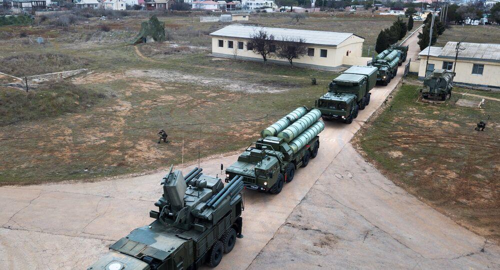 Sistema de defesa antiaérea S-400 Triumph