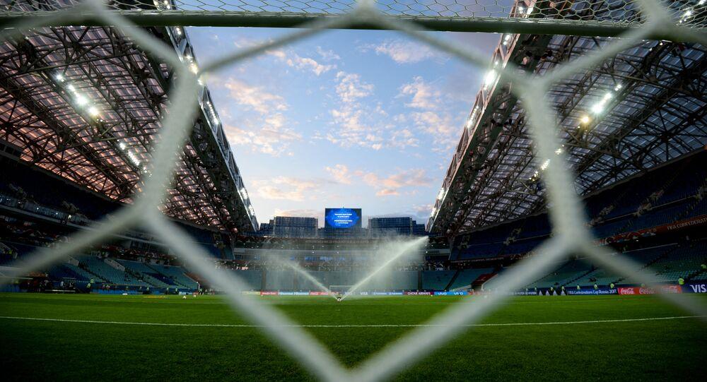 Estádio Fisht em Sochi