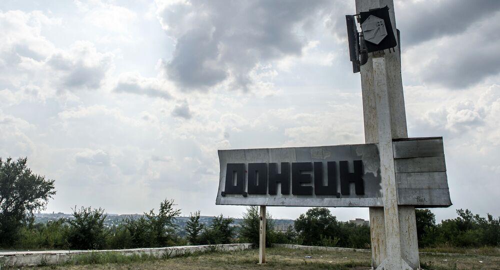 Donetsk, foto de arquivo