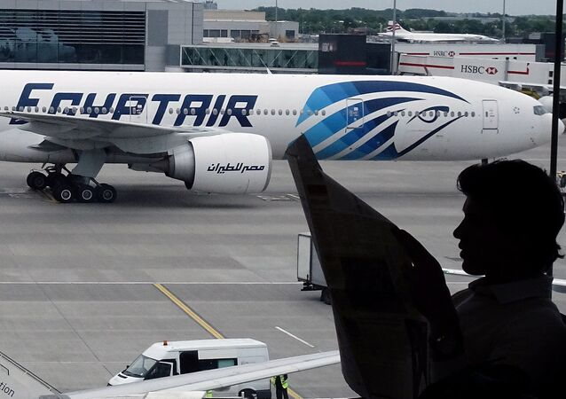 Avião da companhia aérea EgyptAir (foto de arquivo)