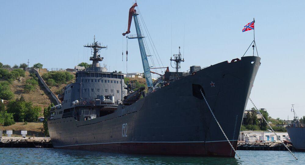 Navio de desembarque de tanques russo Nikolai Filchenkov