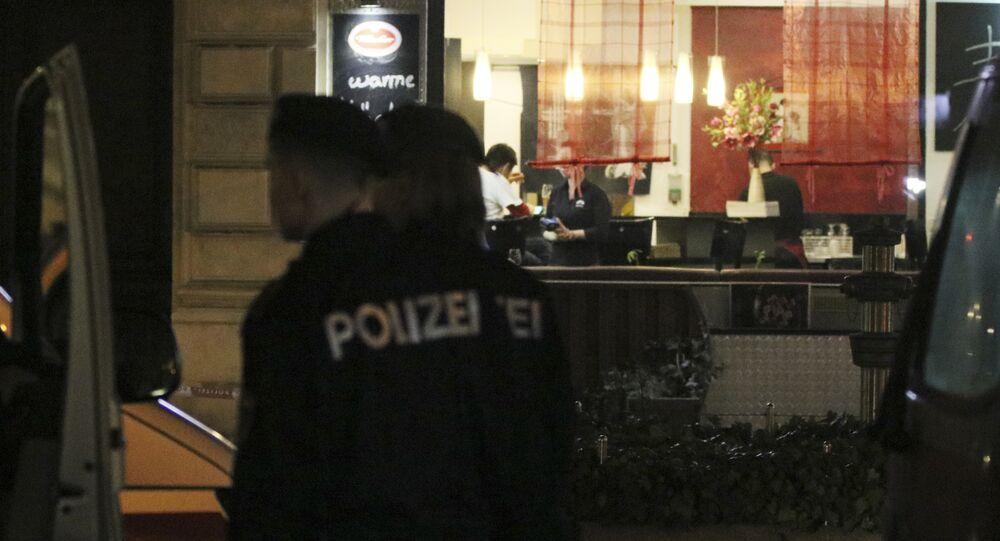 Ataque com faca em Viena, na Áustria