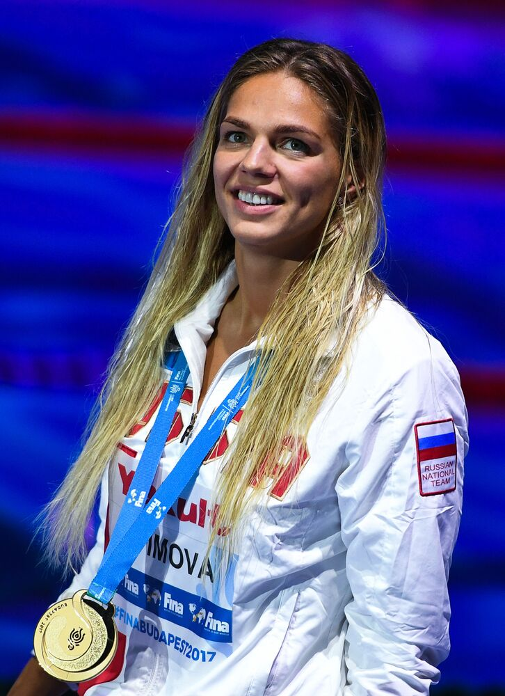 Nadadora russa Yulia Efimova