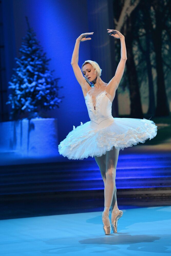 Bailarina russa Uliana Lopatkina