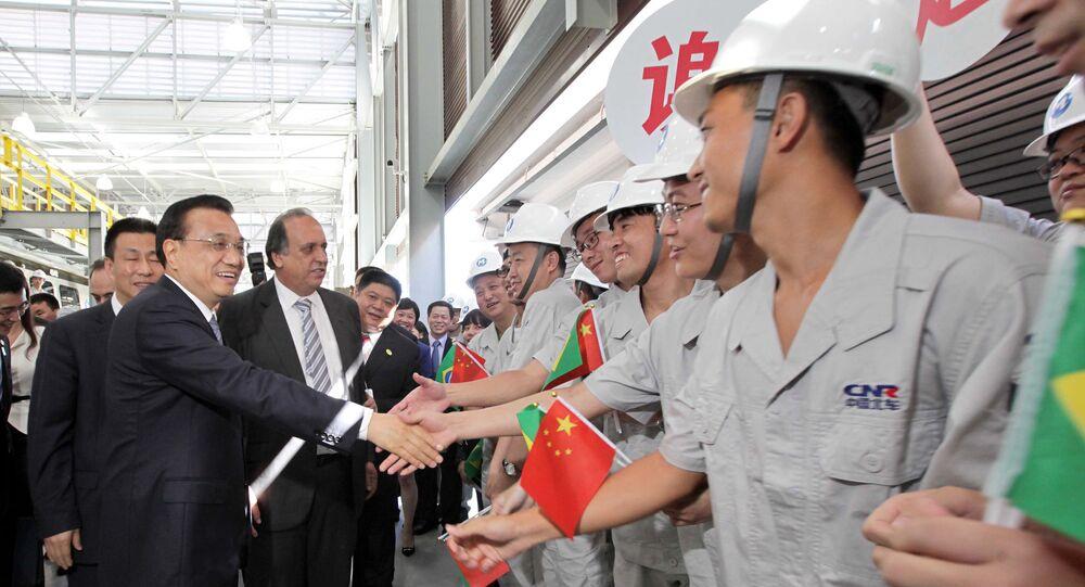 Primeiro-ministro da China, Li Keqiang, e o governador Pezão visitam o Centro Administrativo do Metrô