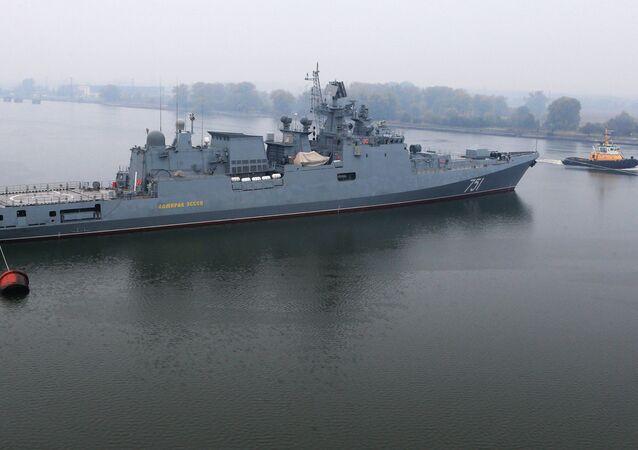 Fragat Admiral Essen da Marinha da Rússia