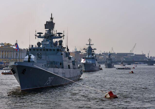 Fragata Admiral Essen (foto de arquivo)