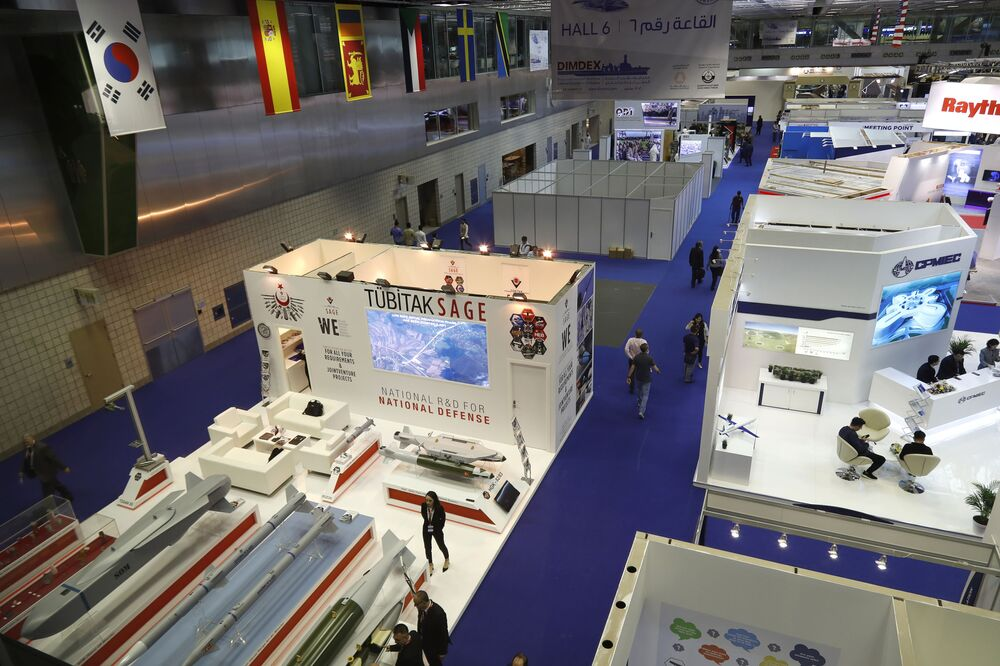 Exposição internacional da Marinha DIMDEX 2018 no Qatar