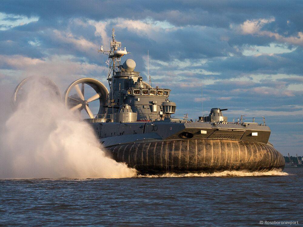 Navio de desembarque grande do projeto 12322