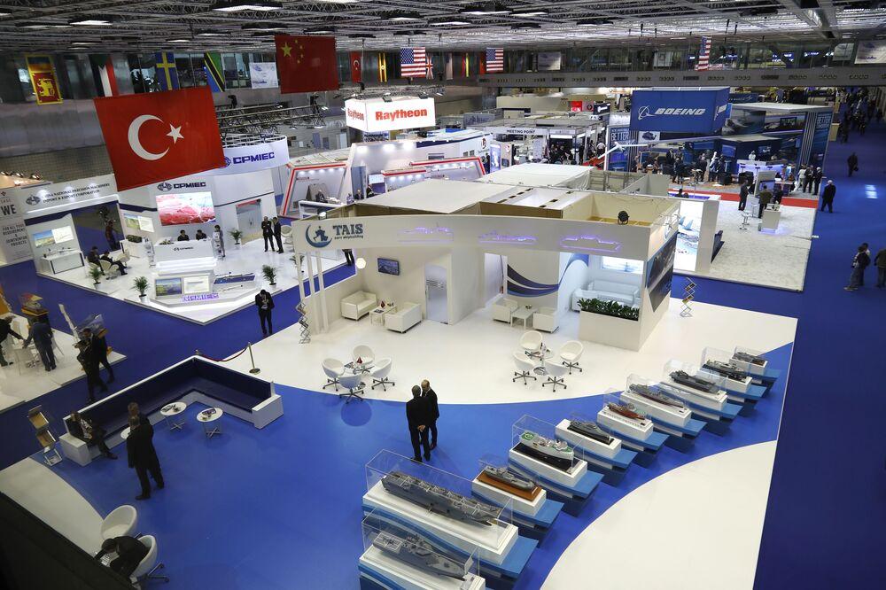 Exposição Internacional de Defesa Marítima DIMDEX 2018 no Qatar
