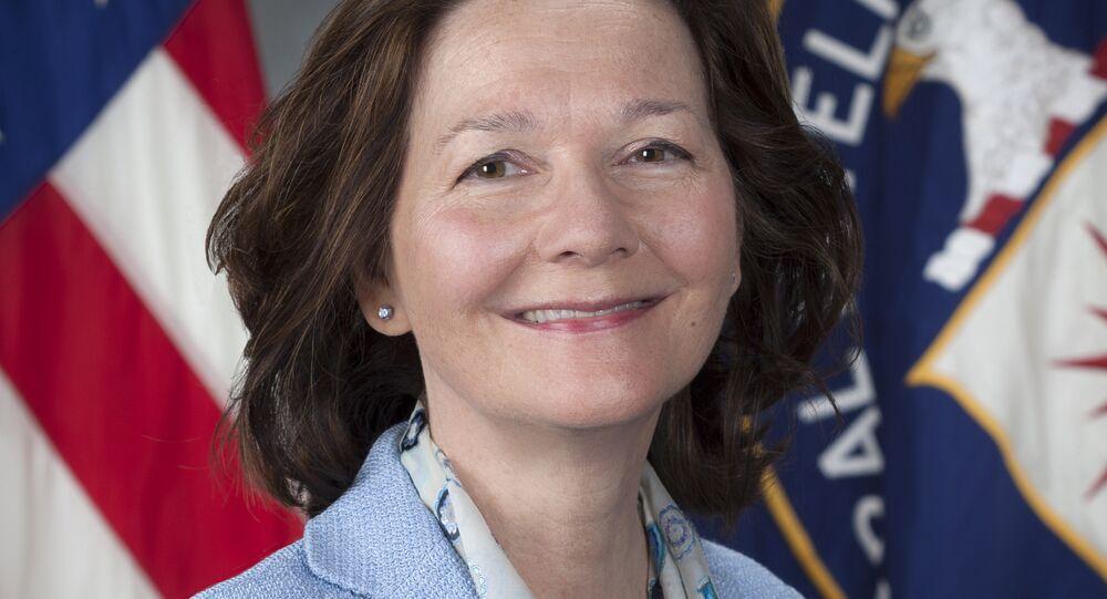 Gina Haspel, nova diretora da CIA.