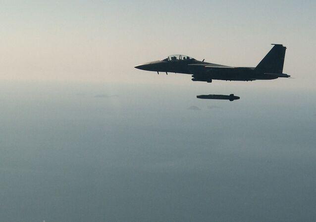 Lançamento de míssil de cruzeiro sul-coreano Taurus