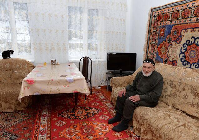 Appaz Aliev homem mais velho da Rússia (imagem referencial)