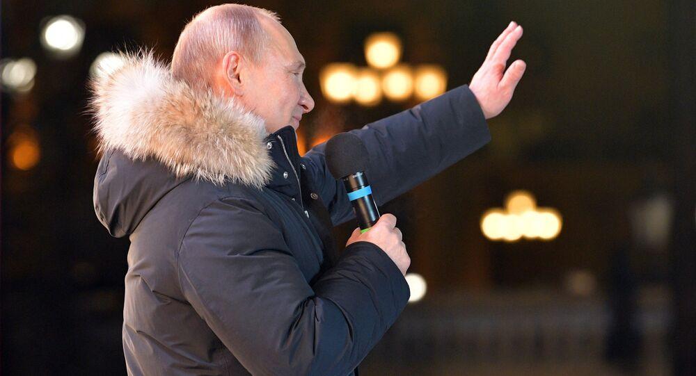Vladimir Putin, presidente de Rússia