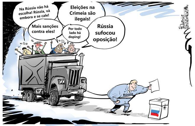 Não há peso que segure os russos