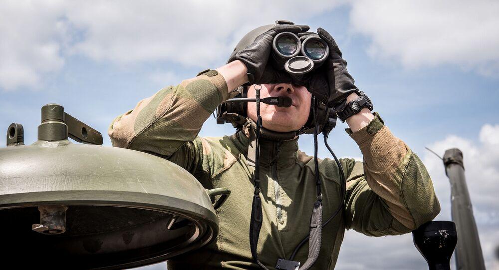 Soldado norueguês (foto de arquivo)
