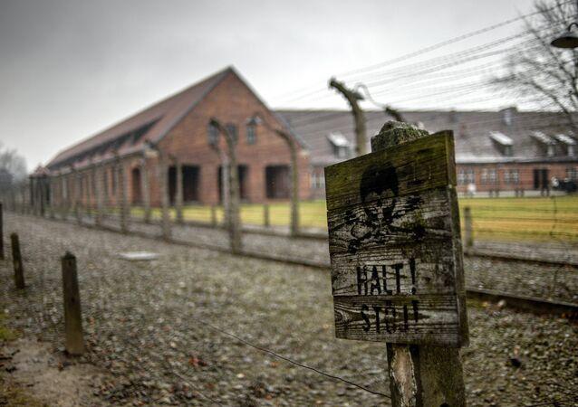 Campo de concentração em Oswiecim