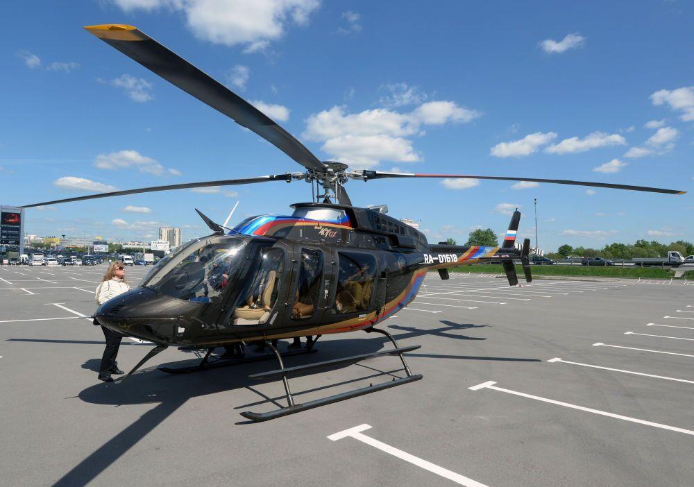 Helicóptero Bell 407 GX chega para a HeliRussia 2015. Fabricante norte-americano Bell Helicopter apresentará o novo modelo.