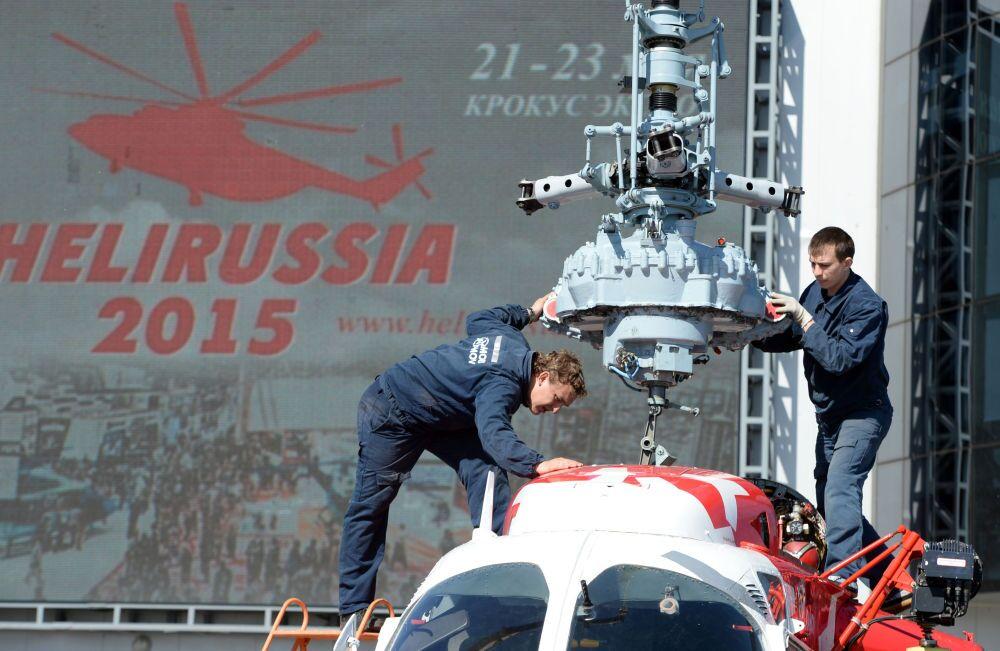 Os visitantes devem prestar uma atenção especial ao Kamov Ka-226T