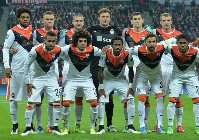 Jogadores do Shakhtar Donetsk