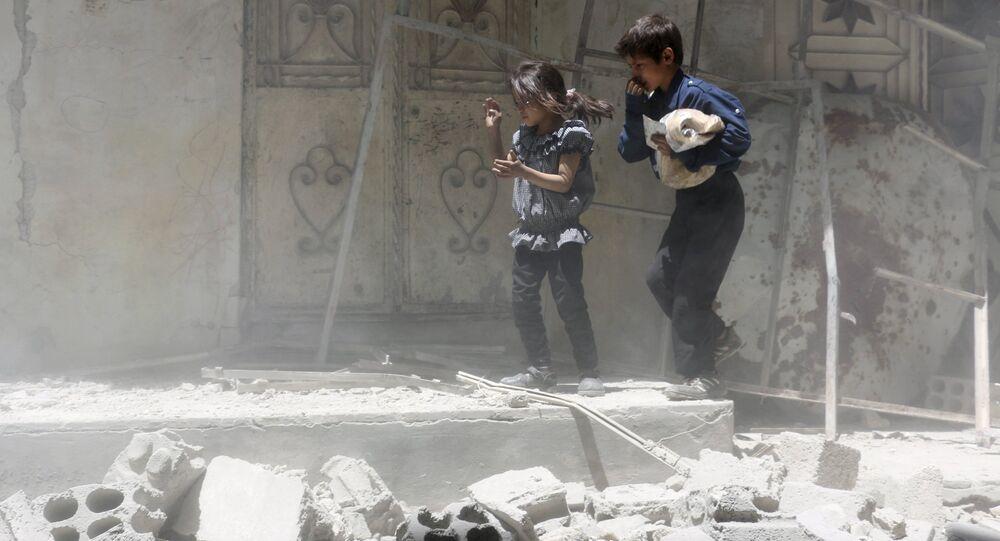 General James Terry diz que os Estados Unidos lamentam por mortes não-intencionais provocadas por ataques norte-americanos na Síria